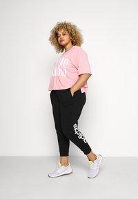 adidas Performance - PANT - Teplákové kalhoty - black/white - 1