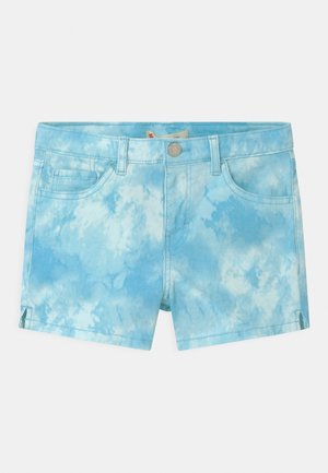 TIE DYE SHORTY  - Denim shorts - blue topaz