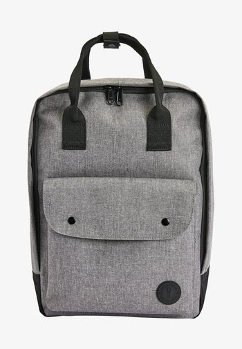 GREY TOTE BACKPACK