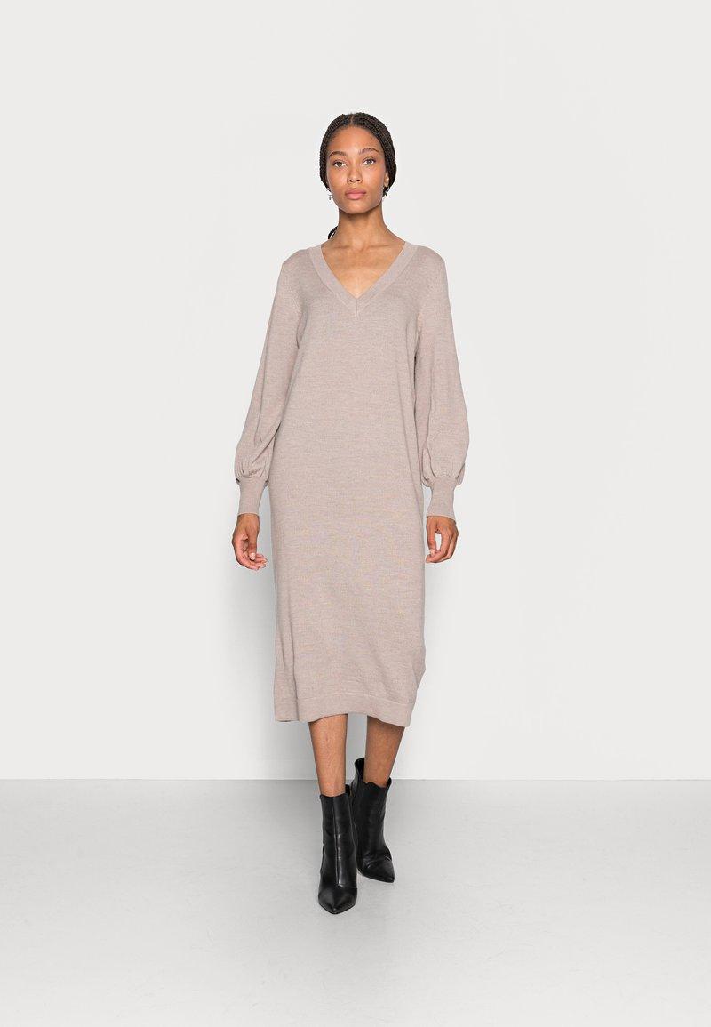 Rosemunde - DRESS - Jumper dress - atmosphere melange