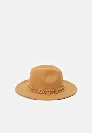 FEDORA UNISEX - Hat - taupe/gold