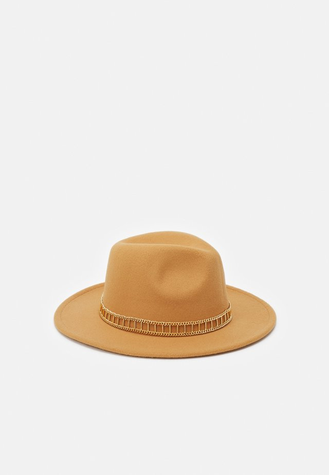 FEDORA UNISEX - Hatt - taupe/gold