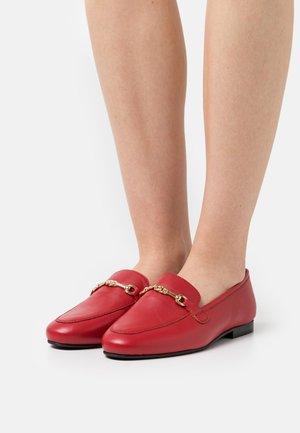LIZA LOAFER - Nazouvací boty - red