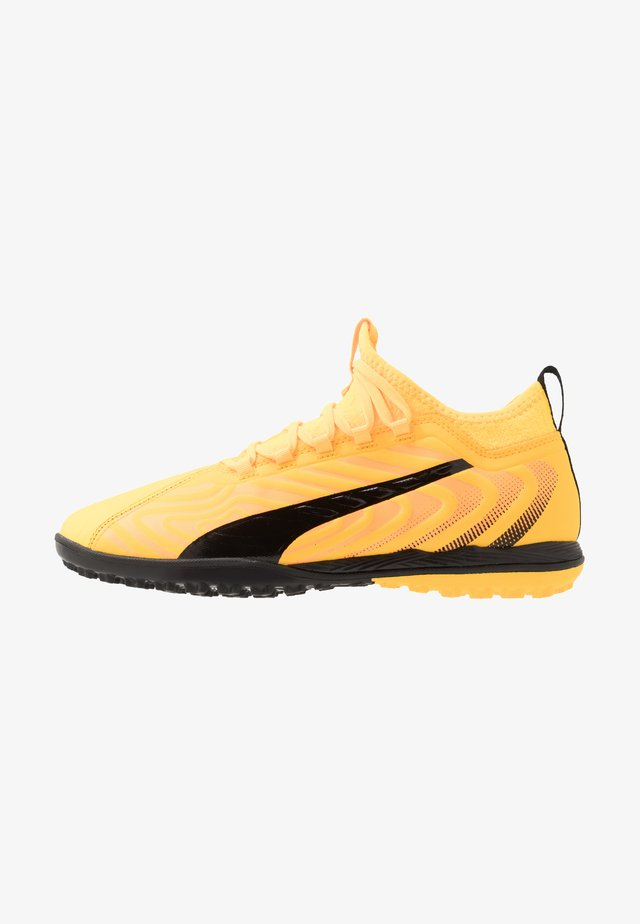 ONE 20.3 TT - Astro turf trainers - ultra yellow/black/orange alert