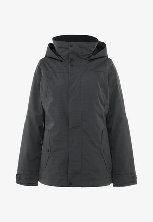 JET SET - Snowboard jacket - true black heather