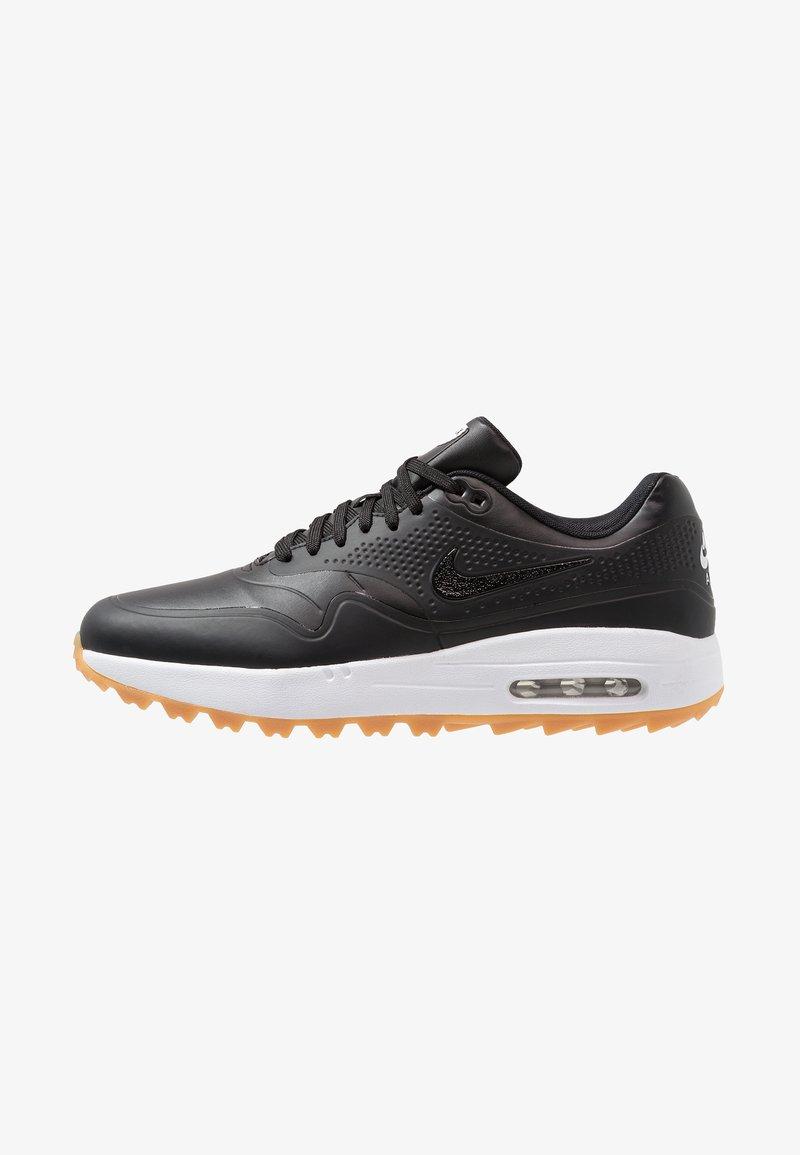 Nike Golf - AIR MAX 1 G - Golfskor - black/light brown