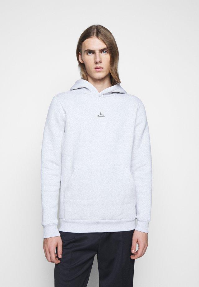 HANGER HOODIE - Sweatshirt - grey melange