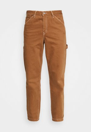 TAPERED CARPENTER - Džíny Relaxed Fit - toffee