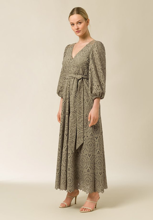 Robe longue - frosty sage