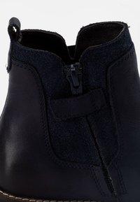 Friboo - LEATHER - Kotníkové boty - dark blue - 5