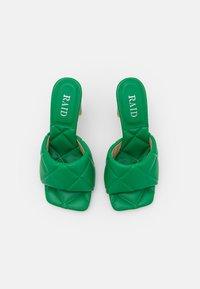 RAID - NICOLETTA - Mules à talons - green - 5