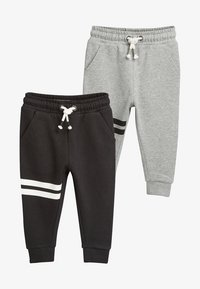 Next - 2 PACKS - Tracksuit bottoms - black - 0