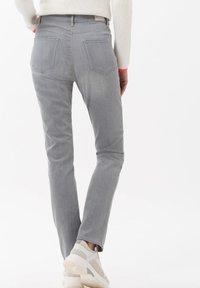 BRAX - STYLE CAROLA - Slim fit jeans - used light grey - 5