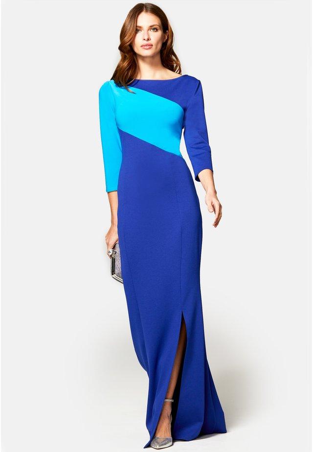 CONTRAST SASH - Společenské šaty - royal blue