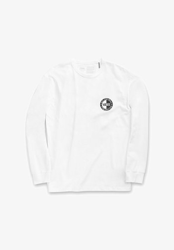 MN OFF THE WALL CLASSIC SLANTED - Long sleeved top - white