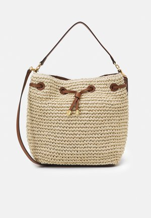 CROCHET DEBBY - Handbag - natural/tan