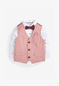 Next - SET - Suit waistcoat - pink - 2