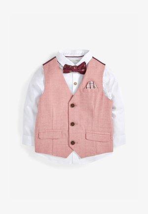 SET - Suit waistcoat - pink