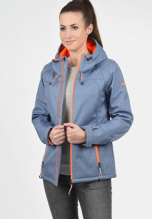 SOLEY - Soft shell jacket - blue