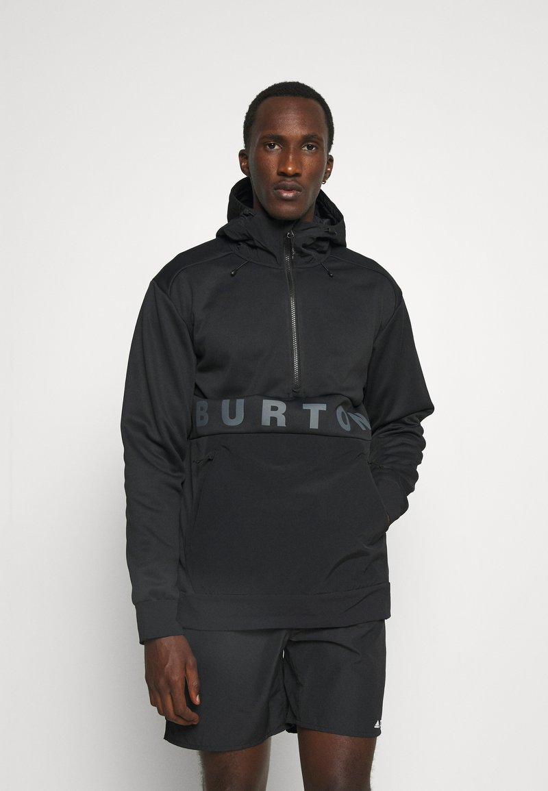 Burton - CROWN - Softshelljas - true black