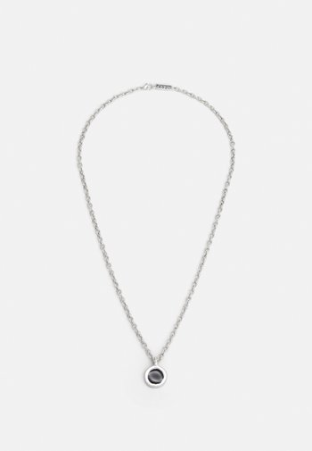 ROUND COMPOSITE NECKLACE - Halsband - silver-coloured