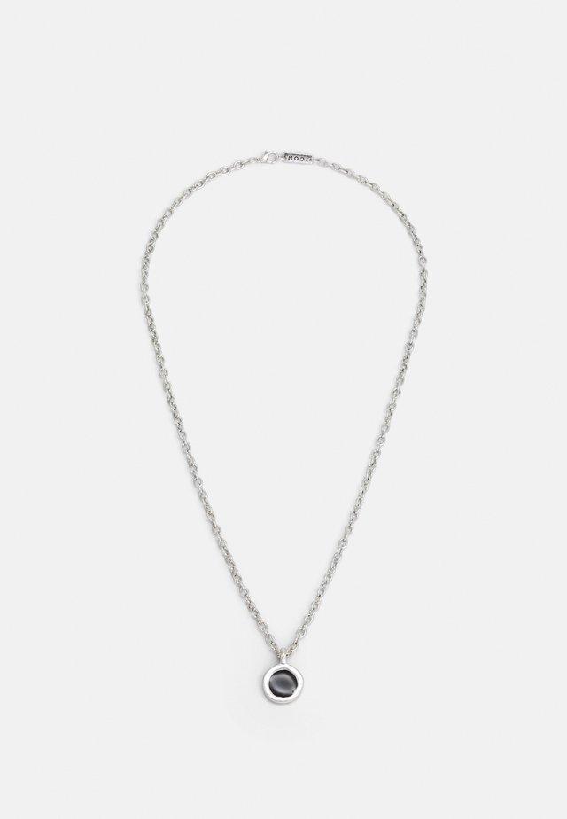ROUND COMPOSITE NECKLACE - Necklace - silver-coloured