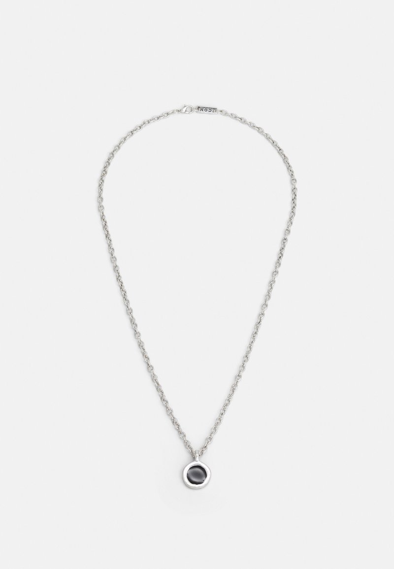 Icon Brand - ROUND COMPOSITE NECKLACE - Ketting - silver-coloured