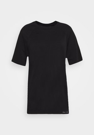 SHORT SLEEVE TRAINING  - Basic T-shirt - black
