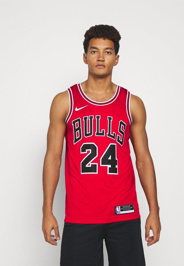 NBA LAURI MARKKANEN CHICAGO BULLS SWINGMAN - Article de supporter - university red/white/black