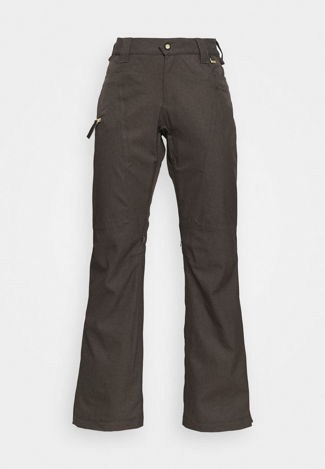 SNOW CULTURE PANT - Talvihousut - black olive