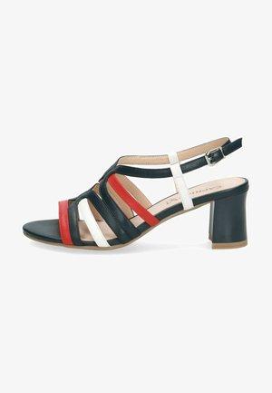Sandały - red/white/ocean