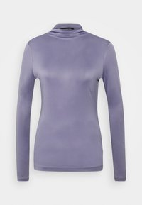 Who What Wear - MOCK NECK - Long sleeved top - dusk - 0