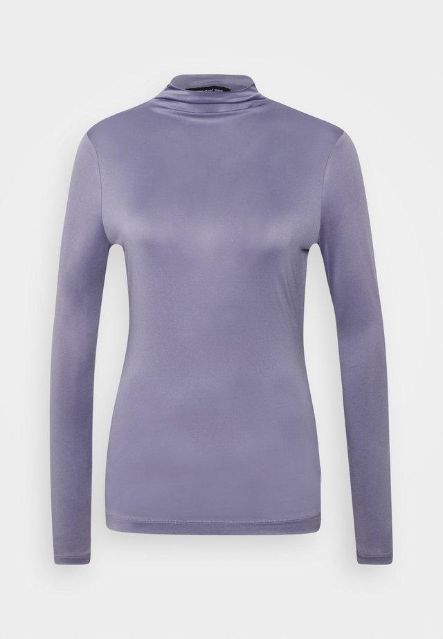 MOCK NECK - T-shirt à manches longues - dusk