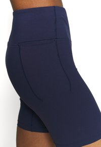 Under Armour - MERIDIAN BIKE SHORTS - Leggings - midnight navy - 5