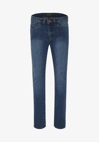 Oklahoma Premium - MIT EINER LEICHTEN WASCH - Slim fit jeans - medium blue - 0