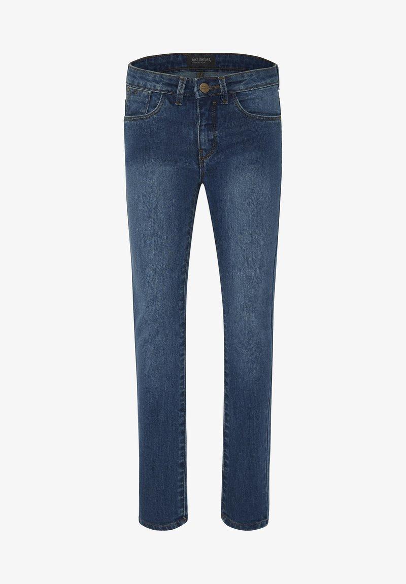 Oklahoma Premium - MIT EINER LEICHTEN WASCH - Slim fit jeans - medium blue