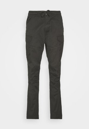 ROVIC SLIM TRAINER - Cargo trousers - asfalt