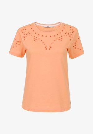 COLLECTION WOMEN T-SHIRTS W - Print T-shirt - cantaloupe