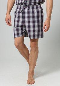 Jockey - PYJAMA 1/2 WOVEN - Pyjama set - red/white - 3