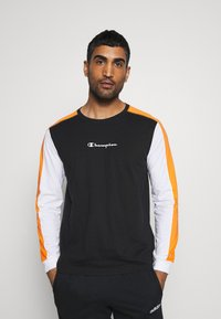 Champion - LONG SLEEVE - Long sleeved top - black - 0