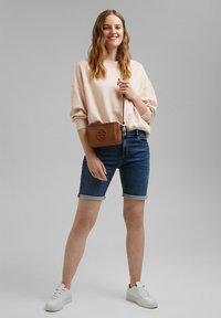 Esprit - Denim shorts - blue medium washed - 1