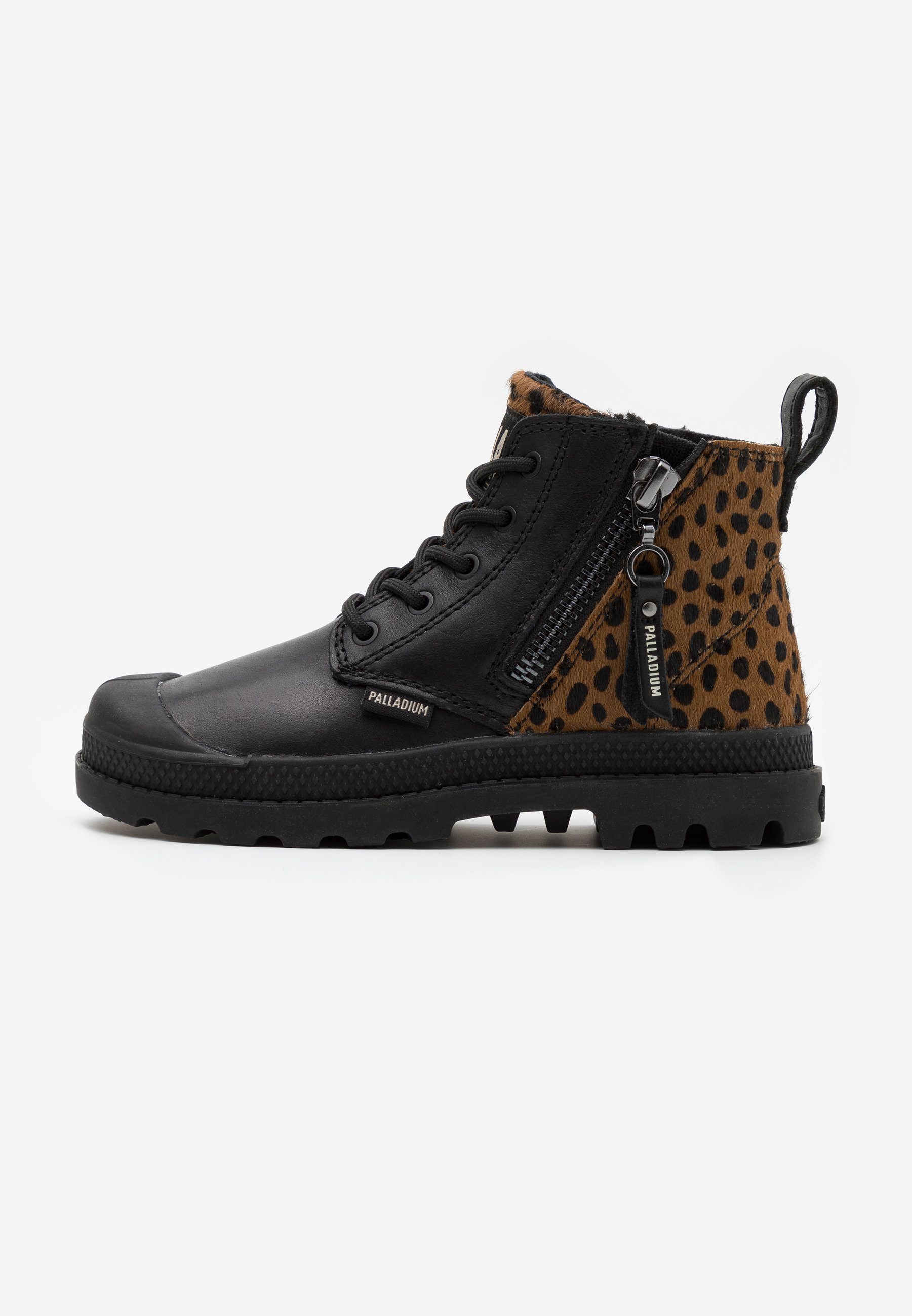 Kids PAMPA ZIP ROCK - Lace-up ankle boots