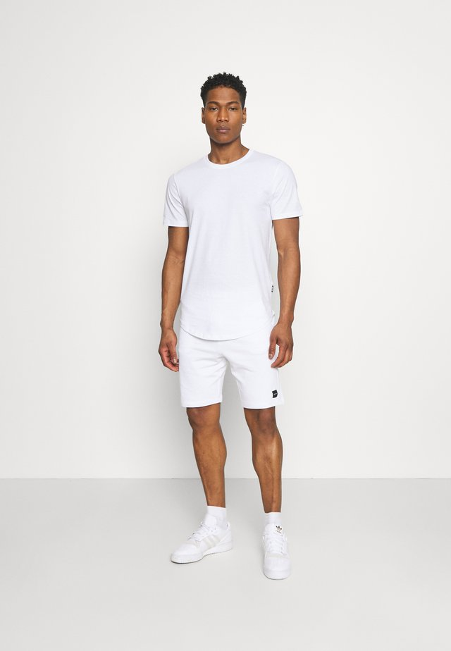 ONSNEIL LONGY SHORTS AND TEE SET - Shorts - white