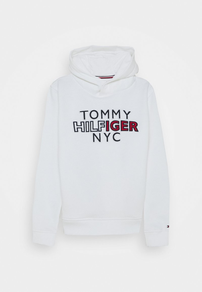 Tommy Hilfiger - GRAPHIC HOODIE - Mikina s kapucí - white