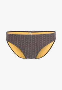 O'Neill - RITA BOTTOM - Bikini bottoms - black with yellow - 4