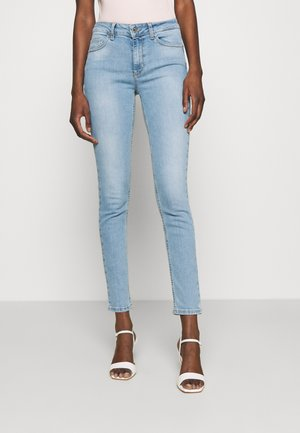 ECS UP DIVINE - Skinny-Farkut - denim blue rochel wash