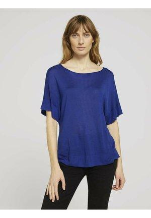 T-shirt basic - anemone blue