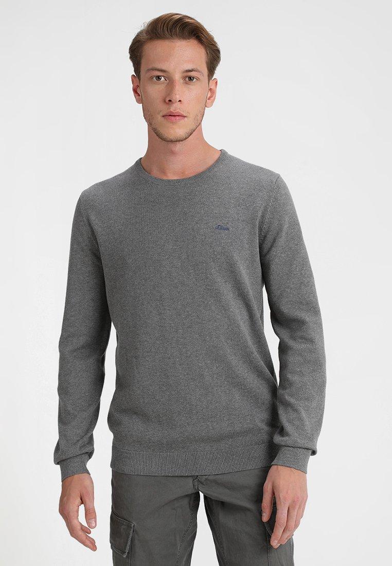 s.Oliver - LANGARM - Jumper - blend grey