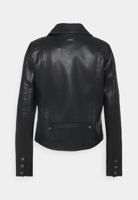 Pepe Jeans - FLORES - Faux leather jacket - black - 7