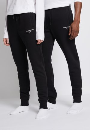 LOGO SWEATPANTS UNISEX - Tracksuit bottoms - black